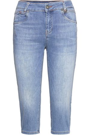 Pulz jeans Dame Smale bukser - Pzemma Capri Skinny Trousers Capri Trousers