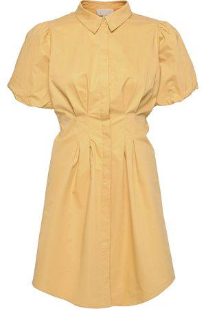 Minus Dame Hverdagskjoler - Alette Shirt Dress Dresses Shirt Dresses Gul