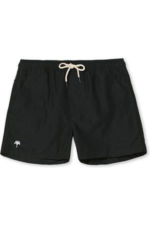 Oas Herre Badebukser - Plain Swimshorts Black