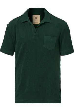 Oas Short Sleeve Terry Polo Dark Green