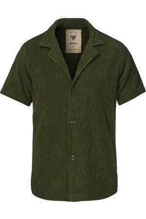 Oas Herre Kortermede - Terry Cuba Short Sleeve Shirt Army