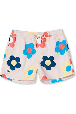Oas Herre Badebukser - Printed Swimshorts Daisy