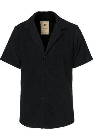 Oas Terry Cuba Short Sleeve Shirt Black