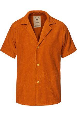 Oas Terry Cuba Short Sleeve Shirt Terracotta