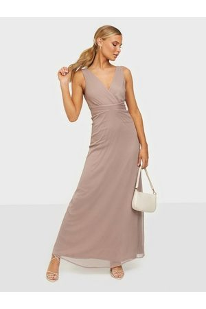 NLY Eve Dame Maxikjoler - Good Looking Drapy Gown Nougat
