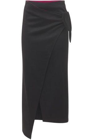 Isabel Marant Isilde Wrapped Crepe Midi Skirt
