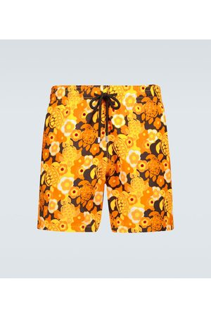 Vilebrequin Moorea floral swim shorts