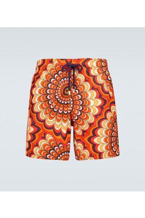 Vilebrequin Moorea Retro RED swim shorts