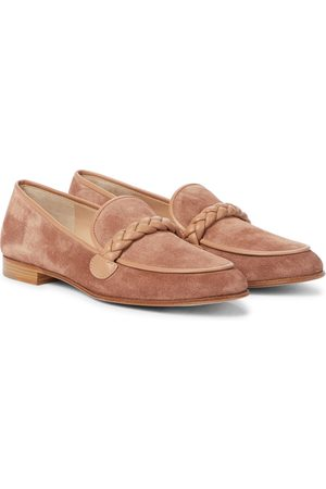 Gianvito Rossi Belem suede loafers