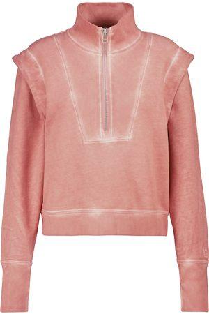 VERONICA BEARD Dame Sweatshirts - Dylan zip-up cotton sweatshirt