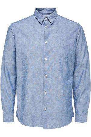 SELECTED Herre Langermede - Slhregnew Shirt