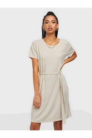 VILA Dame Kjoler - Vianika S/S Belt Dress