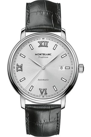 Mont Blanc Herre Klokker - Tradition Automatic 40mm White