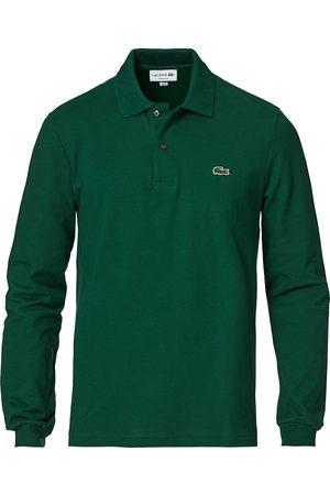 Lacoste Herre Pique - Long Sleeve Polo Green
