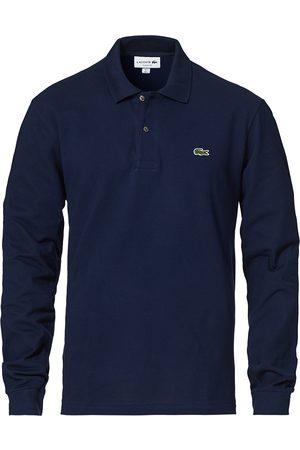 Lacoste Long Sleeve Polo Navy Blue