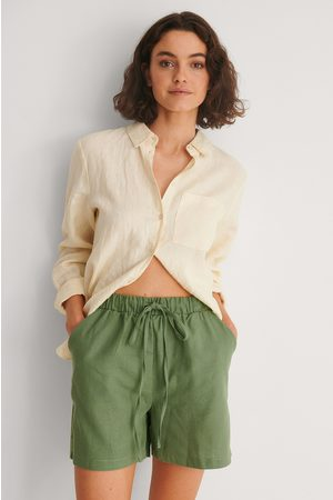 Trendyol Dame Shorts - Shorts Med Knytting I Midjen