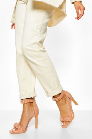 Boohoo Ruched 2 Part Sandal