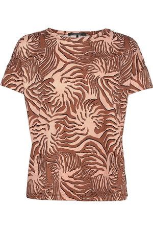 Scotch&Soda Basic Mercerised Tee T-shirts & Tops Short-sleeved Brun