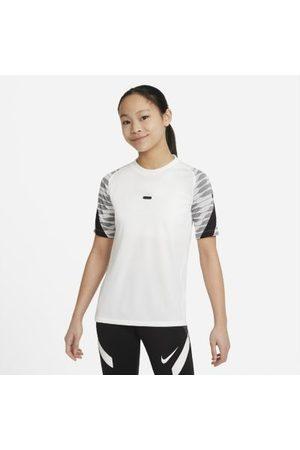 Nike Kortermede - Dri-FIT Strike kortermet fotballoverdel til store barn