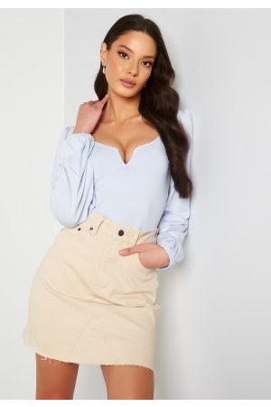 Object Dame Miniskjørt - Penny HW Rwill Skirt Sandshell L