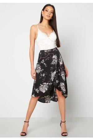 Chiara Forthi Nadia wrap skirt Black / Patterned 36