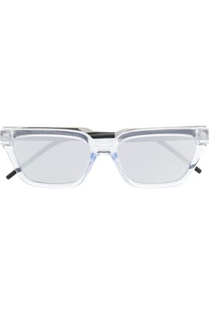 Gucci Eyewear Transparent rectangle-frame sunglasses