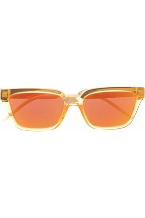 Gucci Herre Solbriller - Square-frame mirrored sunglasses