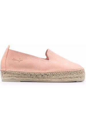 MANEBI Dame Espadrillos - Hamptons leather espadrilles