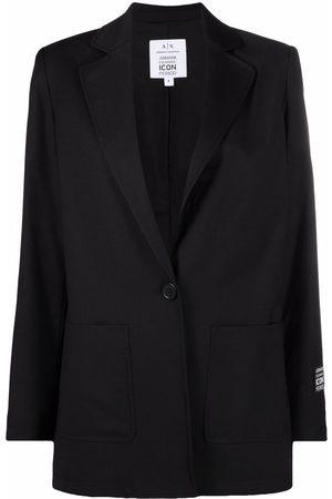 Armani Dame Blazere - Single-buttoned tailored blazer