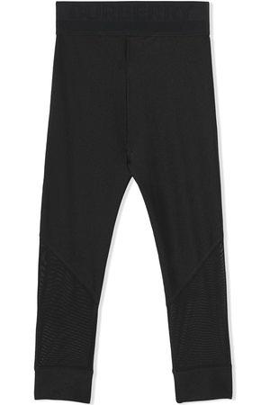 Burberry Jente Leggings - Logo-waistband leggings