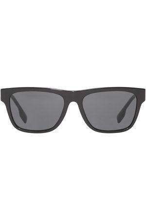 Burberry Herre Solbriller - Logo-detail square-frame sunglasses