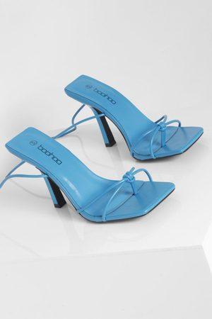 Boohoo Dame Flip flops - Toe Post Wrap Up Sandal