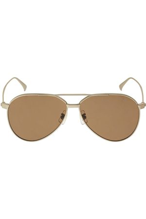 Dunhill Rollagas Aviator Titanium Sunglasses