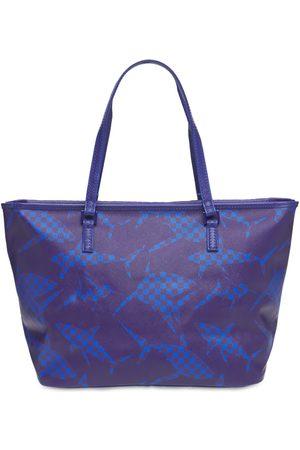 Sprayground Camo Shark Pattern Tote Bag