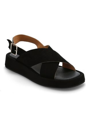 Shoe The Bear Dame Sandaler - Stb-Astrid Cross S Shoes Summer Shoes Flat Sandals