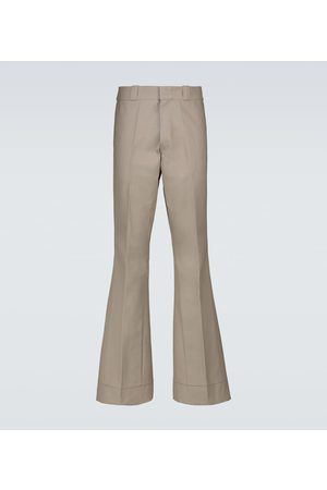 RAF SIMONS Flared cotton pants