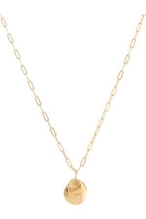 Alighieri Minerva 24kt gold-plated bronze necklace