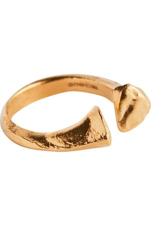 Alighieri The Silhouette of Desire 24kt gold-plated ring