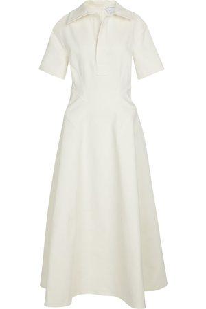 Bottega Veneta Stretch-linen shirt dress