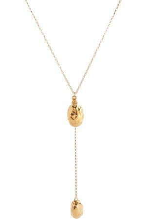 Alighieri Luna Rocks 24kt gold-plated bronze necklace