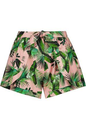 ALEXANDRA MIRO Exclusive to Mytheresa – Claudia printed cotton shorts