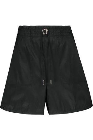 Alexander McQueen High-rise wide-leg shorts