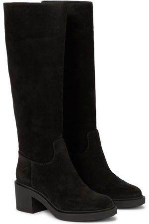 Gianvito Rossi Knee-high suede boots