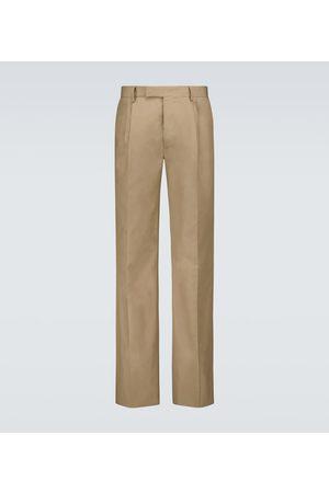 AMIRI Pleated cotton pants