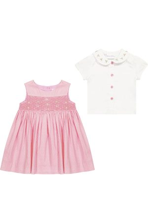 Rachel Riley Baby cotton dress and blouse set