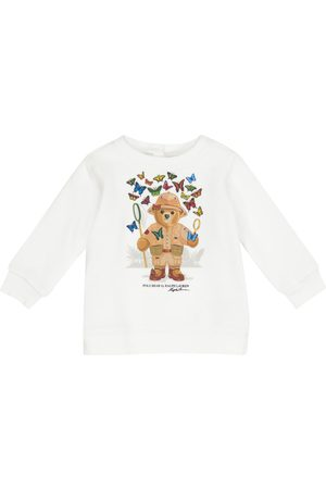 Ralph Lauren Baby Polo Bear cotton-blend sweatshirt