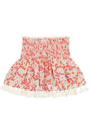 POUPETTE ST BARTH Exclusive to Mytheresa – Mara smocked floral skirt