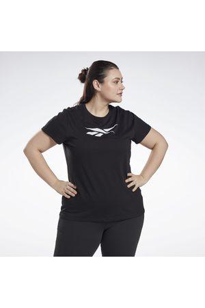 Reebok Dame Kortermede - Graphic Vector T-Shirt (Plus Size)