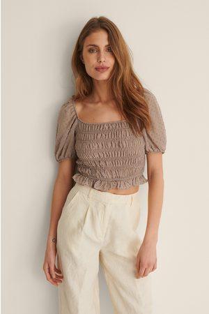 Trendyol Dame Kortermede - Bluse Med Skulderdetaljer
