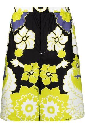 VALENTINO Herre Bermudashorts - Arazzo-print bermuda shorts